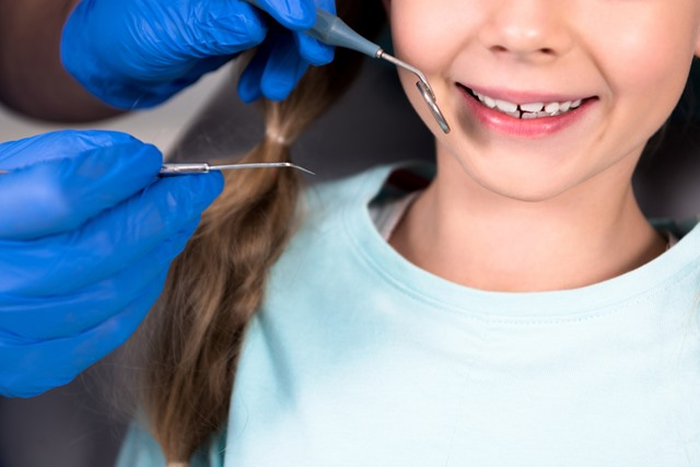 treating your child at the dentist